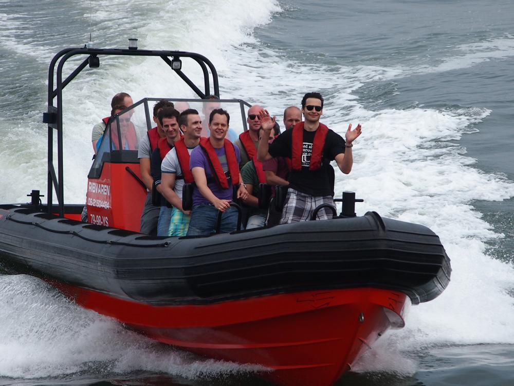 Speedbot varen IJmuiden